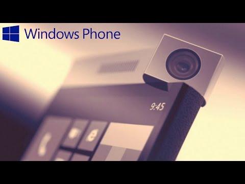 Upcoming Windows Phones 2017.Microsoft Lumia Future Concept With Rotating Camera 2017.