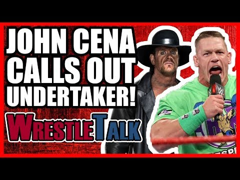 John Cena CALLS OUT The Undertaker! Moves To SmackDown!   WWE Raw. Feb. 26. 2018 Review
