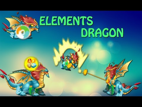 Elements Dragon - Dragon City