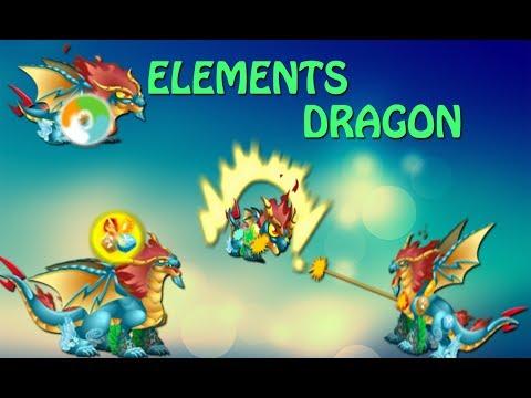 Elements Dragon - Dragon City