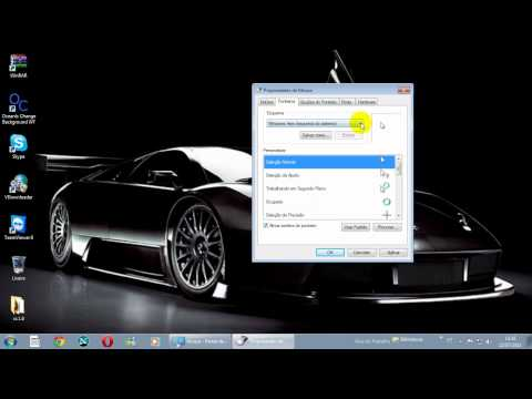 como configurar o mouse do windows 7
