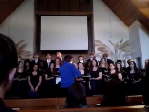 """Morning Trumpet"" Portland Adventist Academy choir - 03/10/2013"
