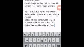 download lagu Cara Mengatasi Error Setting Di Coc gratis