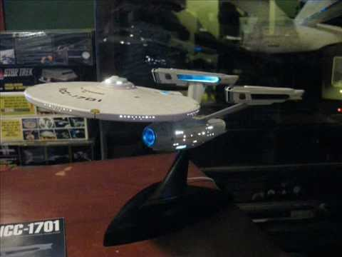 Bandai 1/850 Enterprise NCC-1701 Refit model review and build by TrekWorks