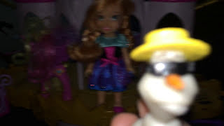 Olaf rapping frozen with Anna