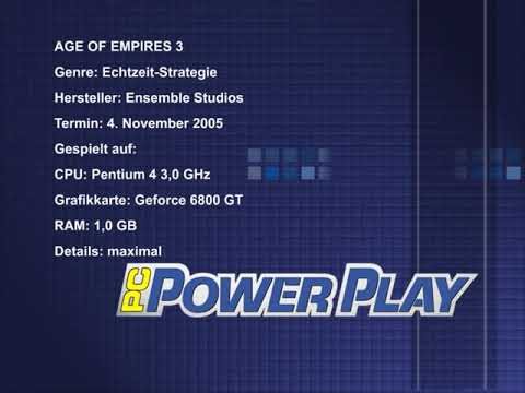 Pc Powerplay Test - Age of Empires 3