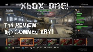 World of Tanks Xbox One Ed. | T34 Review and Commentary! |