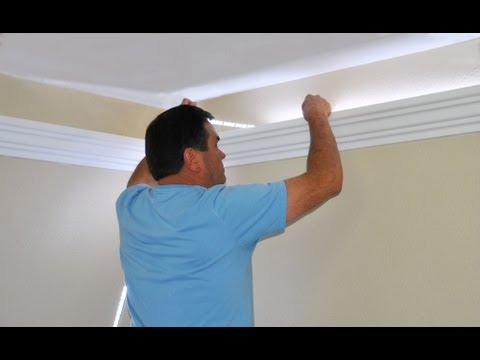 Install Indirect Lighting In Crown Molding By Creative