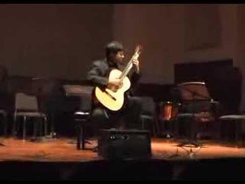 Valse en Skai By Roland Dyens, Guitarist Sungmin Shin