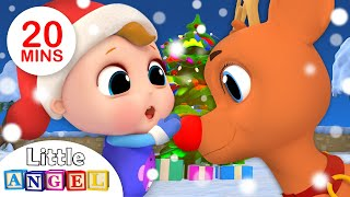 Jingle Bells🔔🔔 | Baby's First Christmas🎅 | Nursery Rhymes by Little Angel