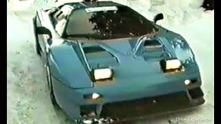 INEDITO: Prototipo Bugatti EB110 (Prove su ghiaccio) - Drive Experience