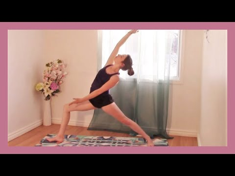 Yoga for Tight Hips - Vinyasa Flow 35 minute Full Class