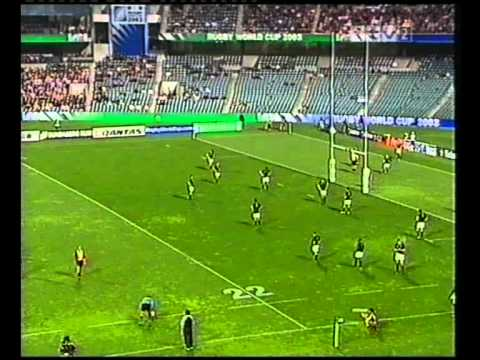 RWC 2003 Uruguay vs. Sudafrica 1er Tiempo