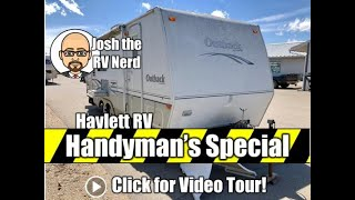 HANDYMAN'S SPECIAL 2004 Outback 25RSS Travel Trailer