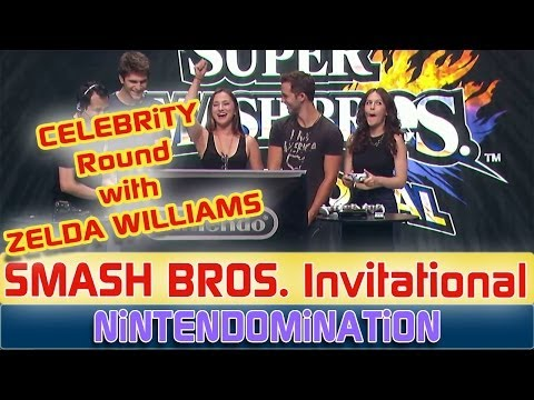 Super Smash Bros. Invitational - CELEBRiTY Round with *Zelda Williams*