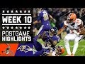 Browns vs. Ravens (Week 10) | Game Highlights | NFL