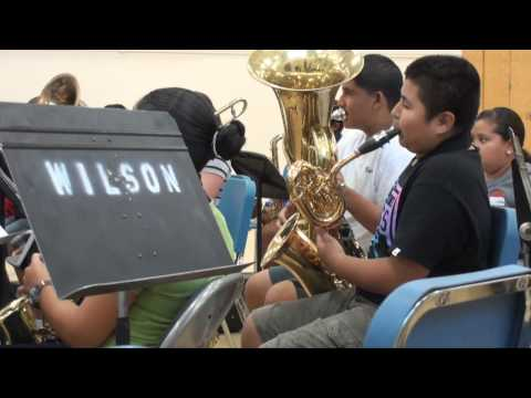 RAW VIDEO: El Centro Elementary School District offers music camp for aspiring musicians