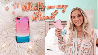 WHAT'S ON MY IPHONE 2019!! Plus GIVEAWAY!!! :)