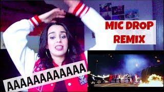 Download Lagu BTS (방탄소년단) 'MIC Drop (Steve Aoki Remix)' Official MV - REACTION !!! Gratis STAFABAND