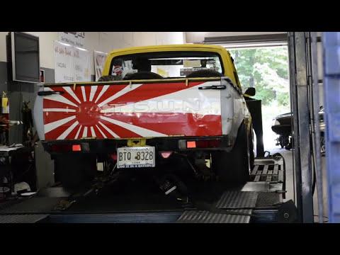 Datsun 620 LZ22 Stroker Dyno