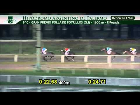 Gran Premio Polla de Potrillos 2013 Hipodromo Palermo