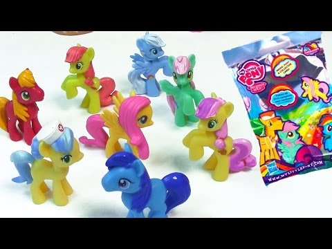 My Little Pony Wave 9 Blind Bag MLP Collection Rainbow Pastel Surpirse Toy Review