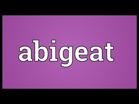 Header of abigeat