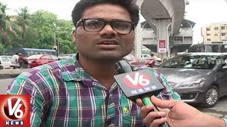 Hyderabad City People Facing Problems With Huge Traffic Jam