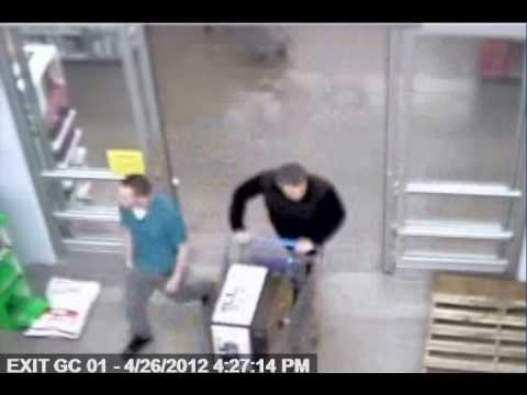 Two Suspects Steal Computer Monitor from Amherst Store