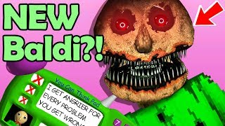 Baldi's NEW FORM! I answer ALL the Questions WRONG & he's CHANGED!? (Baldi's Basics Update)