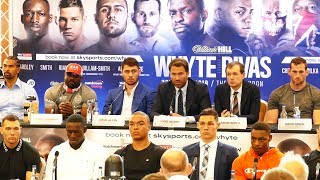 Dave Allen vs David Price & FULL UNDERCARD PRESS CONFERENCE | Matchroom Boxing