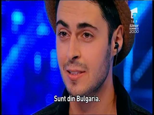Prezentare: Todor Gadjalov a venit la X Factor plin de speranțe