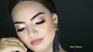 Super Simple Summer Full Face Makeup By Farlie Solomons