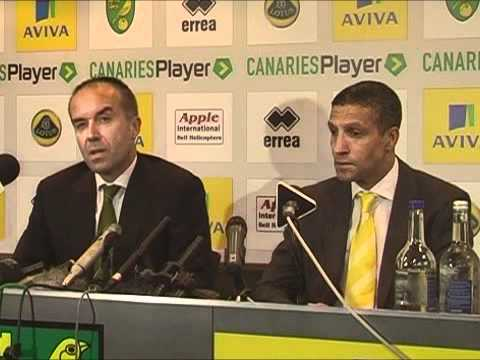 Norwich City Chris Hughton press conference