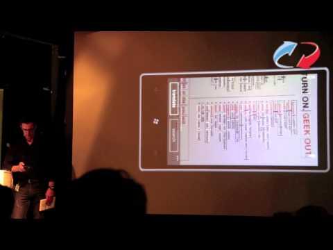 "Winload.de auf der Microsoft Windows Phone 7 ""Mango"" Update Preview in Berlin - Teil 3"