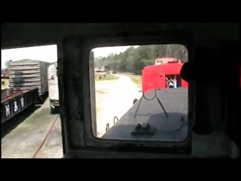 GE 44-tonner Cab Ride at the Southeastern Railway Museum