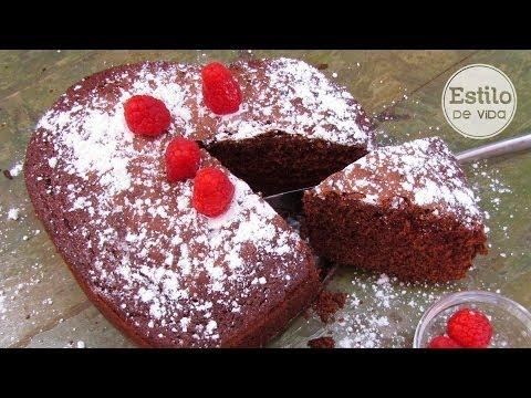 Bizcocho de chocolate para celiacos (sin gluten)