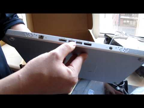 Dell Adamo Unboxing Video