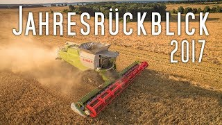Big Farming in Germany | one year of farming | Jahresrückblick 2017
