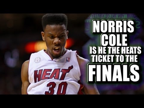 Norris Cole will he help the Miami Heat make it to the NBA finals