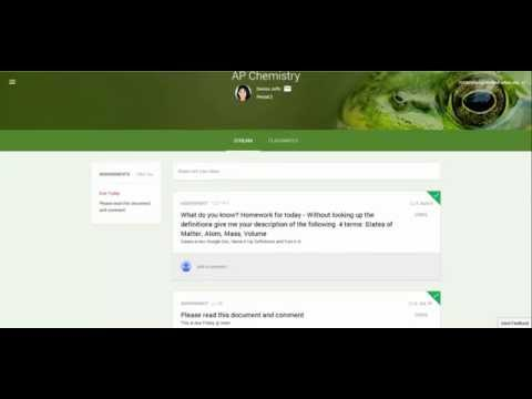 Google Classroom Part 4: Grading, Communication and Google Drive View