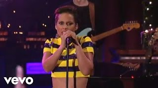 Alicia Keys Girl On Fire Live On Letterman