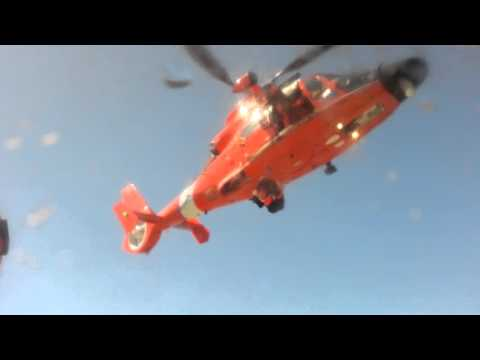 cg rescue swimmer w/ Aux Flotila 07-10-10
