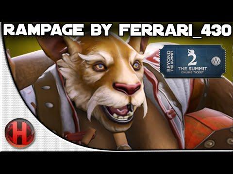 Rampage by iGFerrari430 vs LGD Dota 2