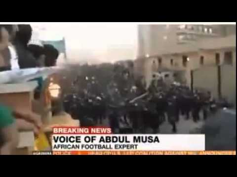 Egypt Football Clashes With Police RAW VIDEO 22 People Dead After Fighting With Police