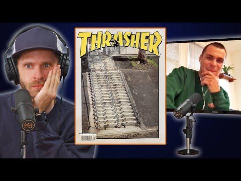 Mason Silva's Massive Ollie Landed On The Cover Of Thrasher!