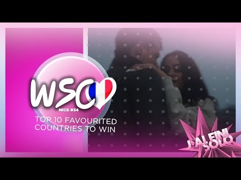 TOP 10 Most  likely countries to win Wonderful Song Contest #34 in Nice