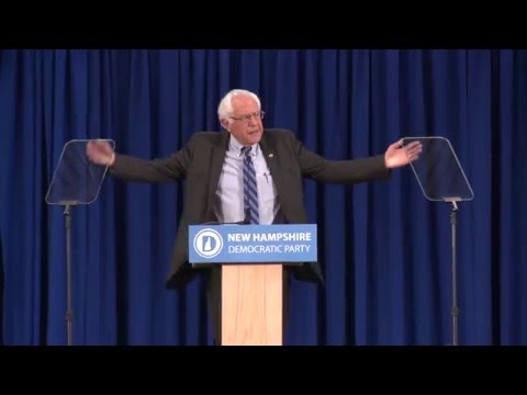 Bernie Sanders' Remarks at the New Hampshire Democratic Party Convention