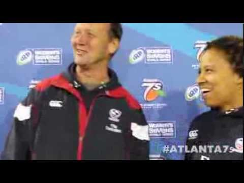 Coach Ric Suggitt comments on Atlanta 7s and the team's expectations for Brazil--Atlanta 7s