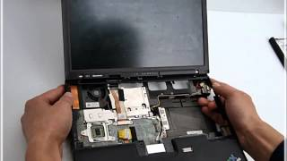 IBM Thinkpad X61 노트북 분해(Laptop disassembly)